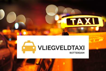 Logo Vliegveldtaxi Rotterdam